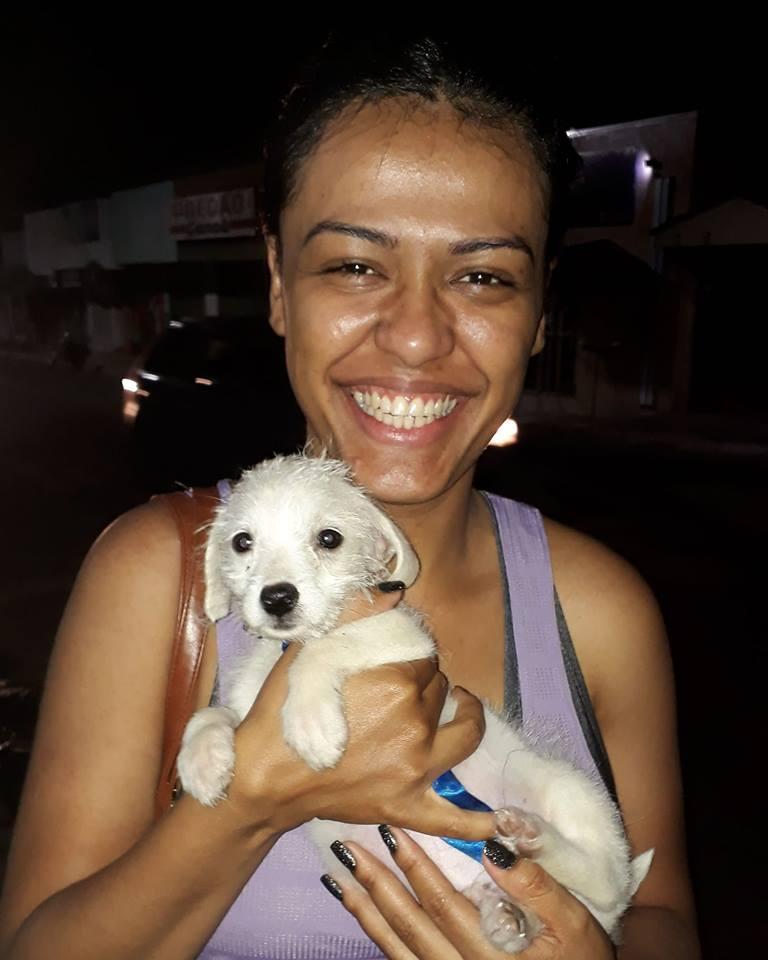 Perrito adoptado