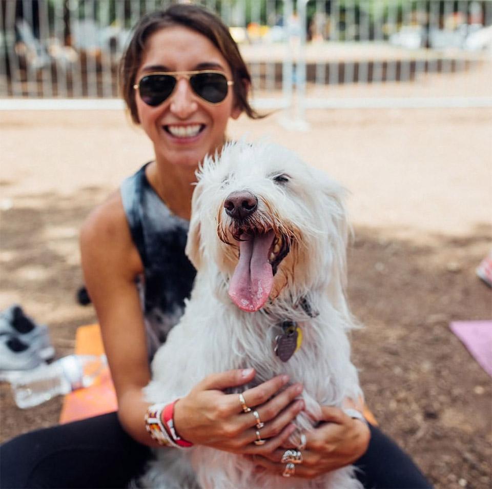 Perro y su mamá