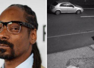 Snoop Dogg ofrece un hogar al perro abandonado justo antes de Navidad