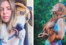 Famosa fotógrafa rusa deja su carrera para vivir con 100 animales rescatados