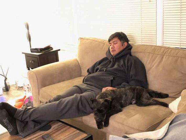 Toby y su papá