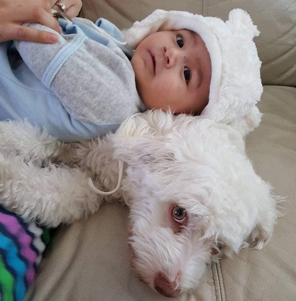 Pupa y el bebé