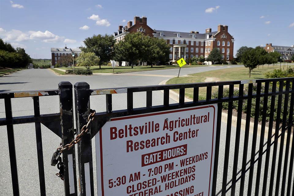 Centro de Investigación Agrícola de Beltsville, el centro de investigación agrícola y la biblioteca del Departamento de Agricultura en Beltsville