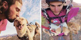 Hombre rescata a un perro y viven una gran aventura