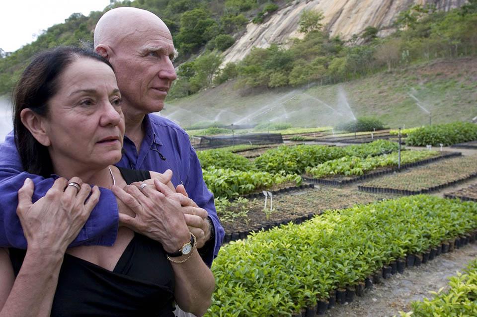 Sebastião y su esposa Lélia
