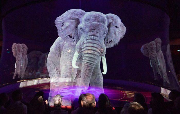 Circo alemán usa hologramas