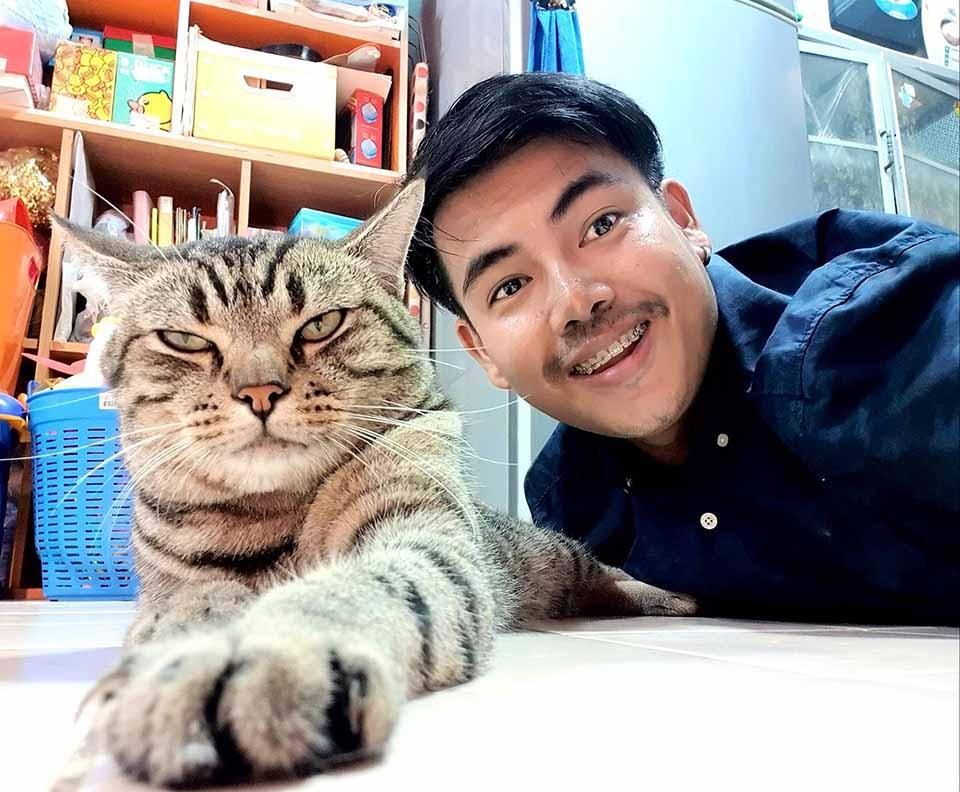 Gatito llamado Achi
