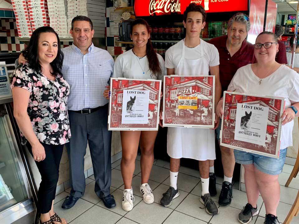 Miembros de Angelo's Pizza