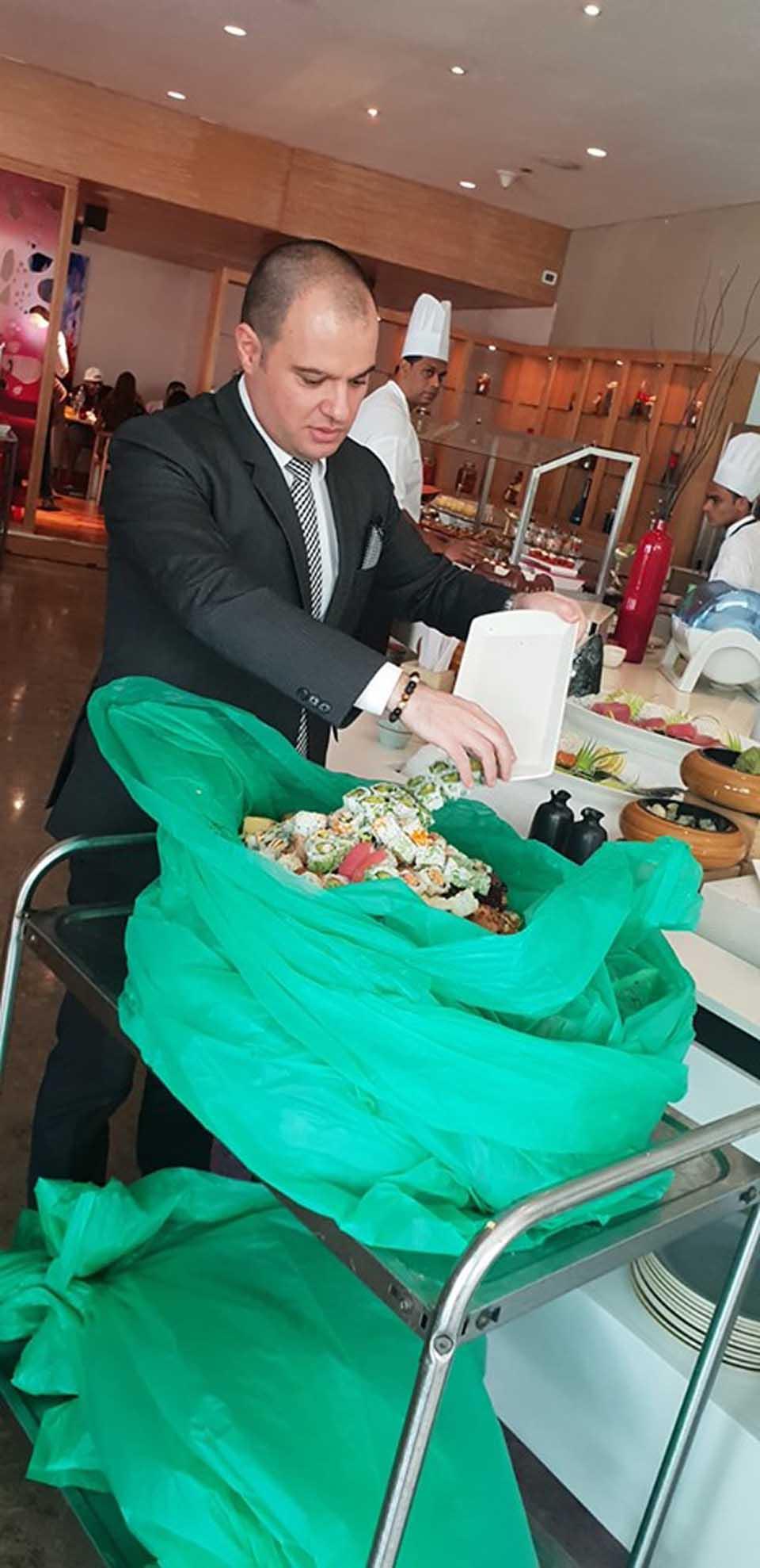 Reciclaje de alimentos en Hoteles