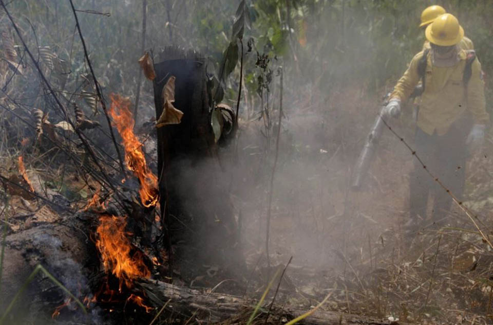 Incendio y bomberos