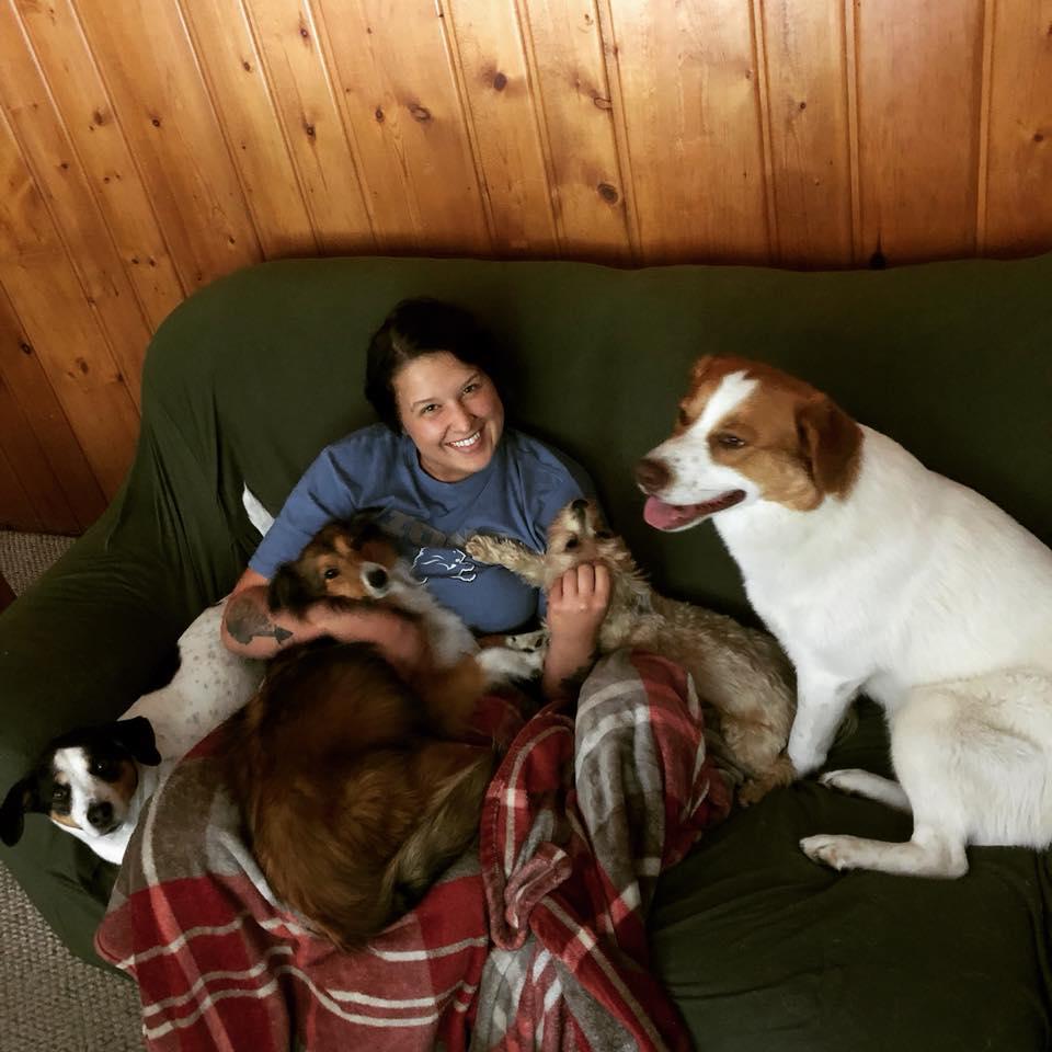 Abby y sus perros