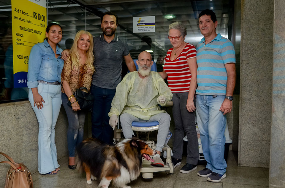 Flavio, Agadir y familia