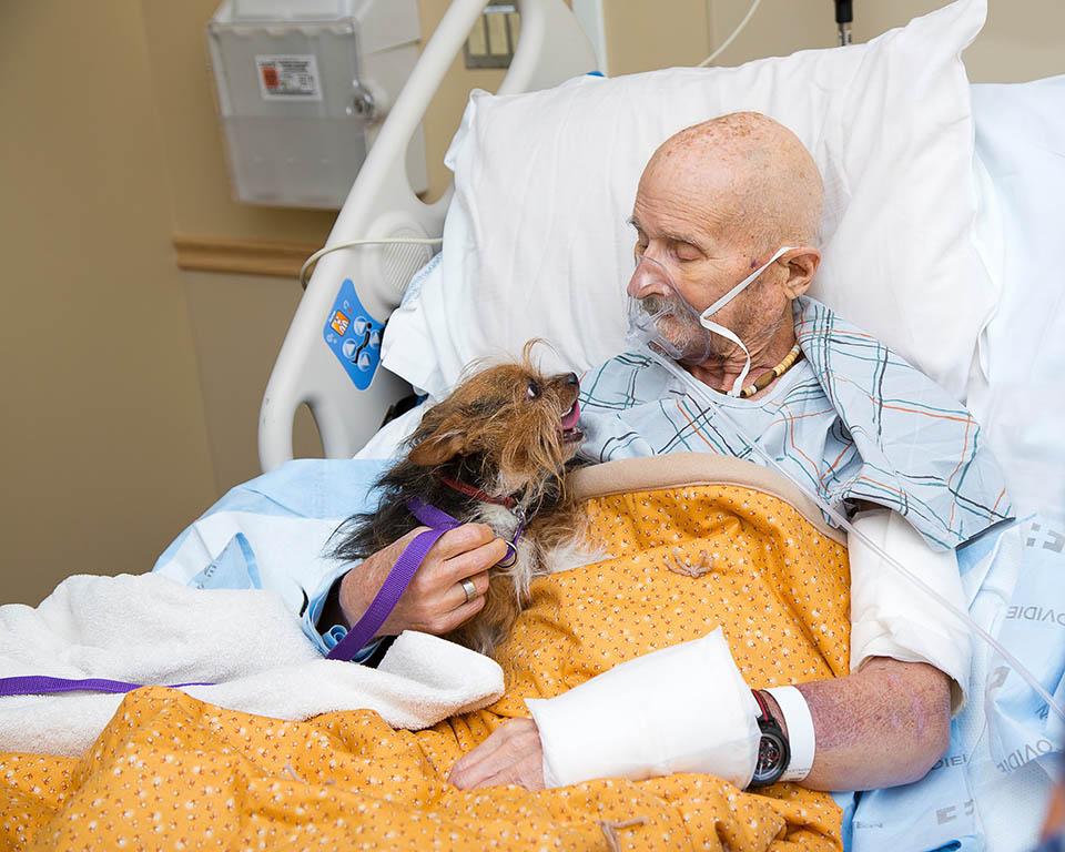 Veterano en el hospicio