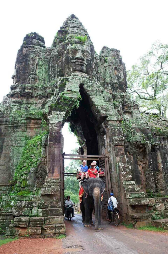 Paseo en templo