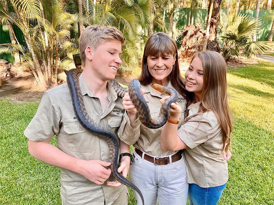 Familia Irwin australia zoo