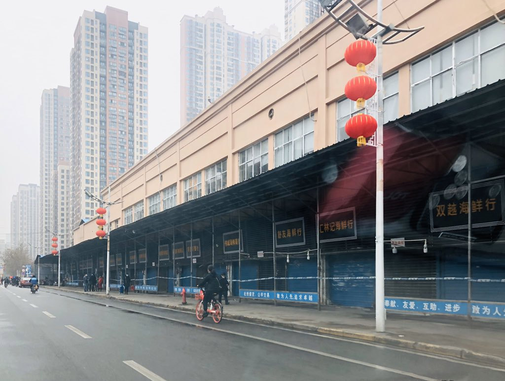 Comercio chino cerrado