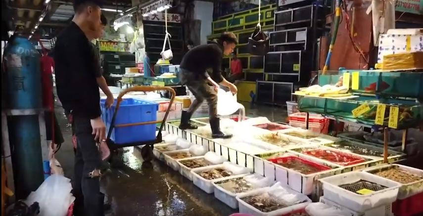 Mercado chino de alimentos, Beijing