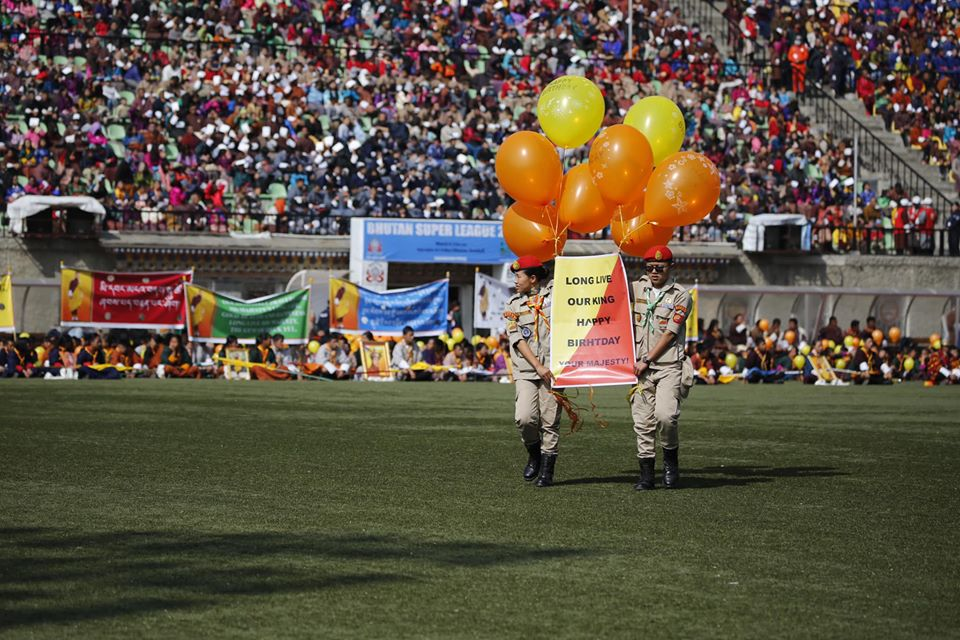 Cumpleaños rey de Bután