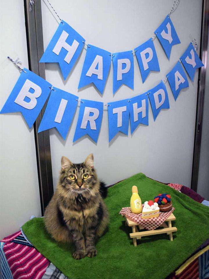 Monique en su cumpleaños
