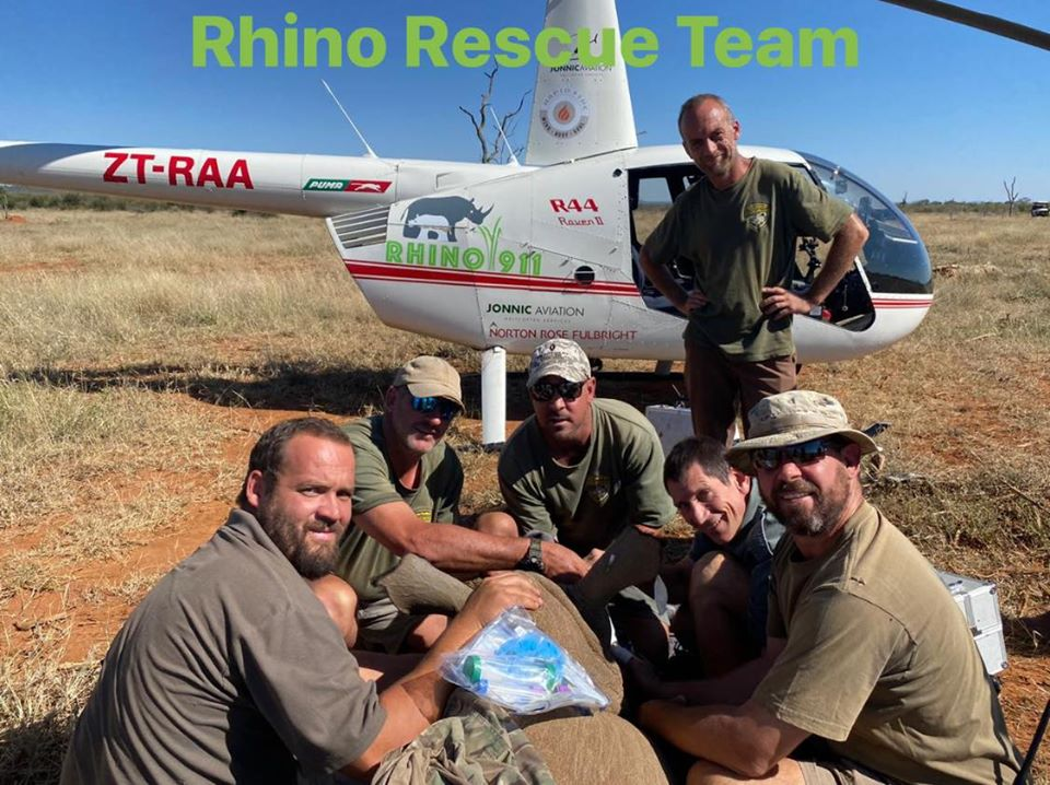 Equipo de rescate Rhino 911