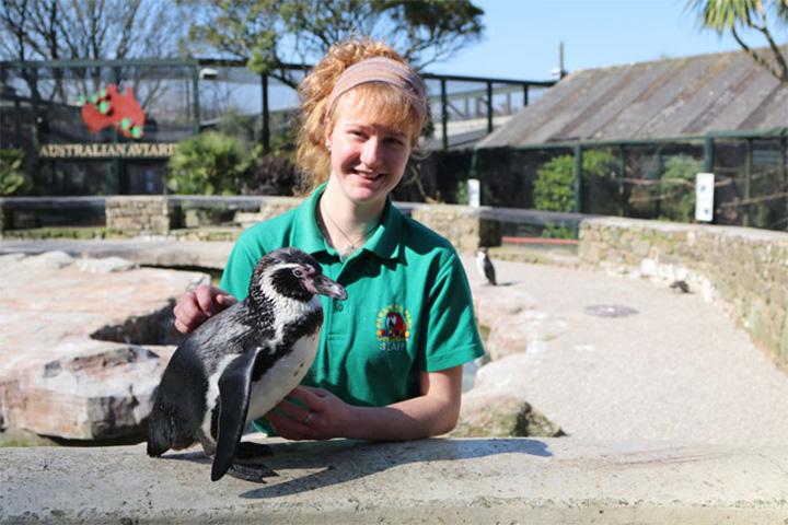 Trabajadoras de zoológico se encierran en las instalaciones