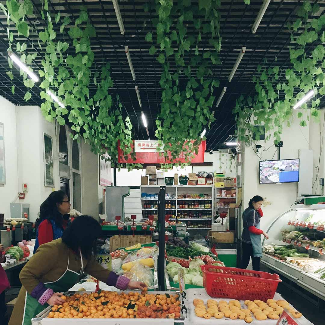 Mercado Wuhan China