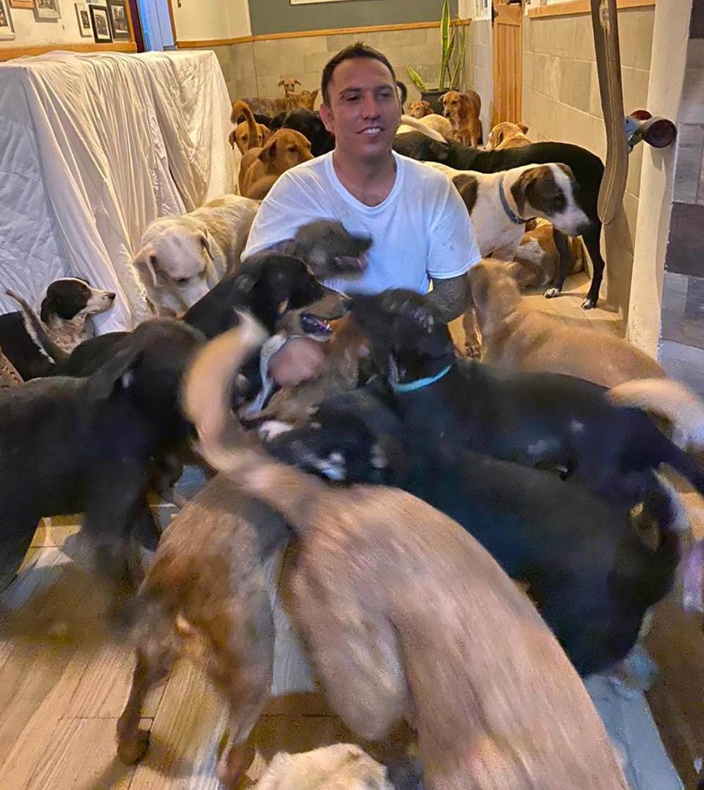 Ricardo da refugio perros